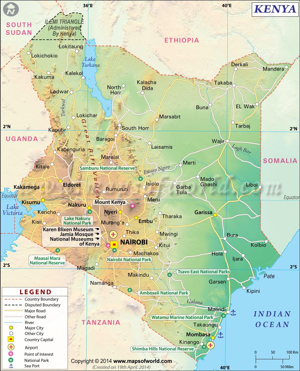 LANDENFICHE Kenia